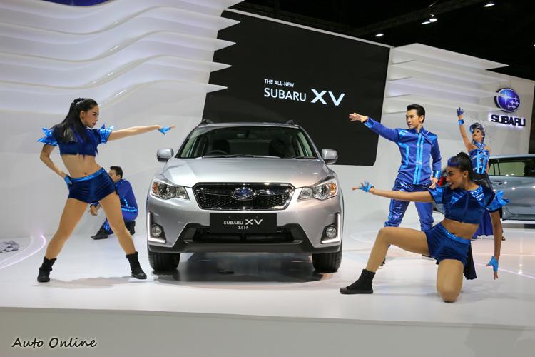 全新改款SUBARU XV在泰國車展隆重登場。