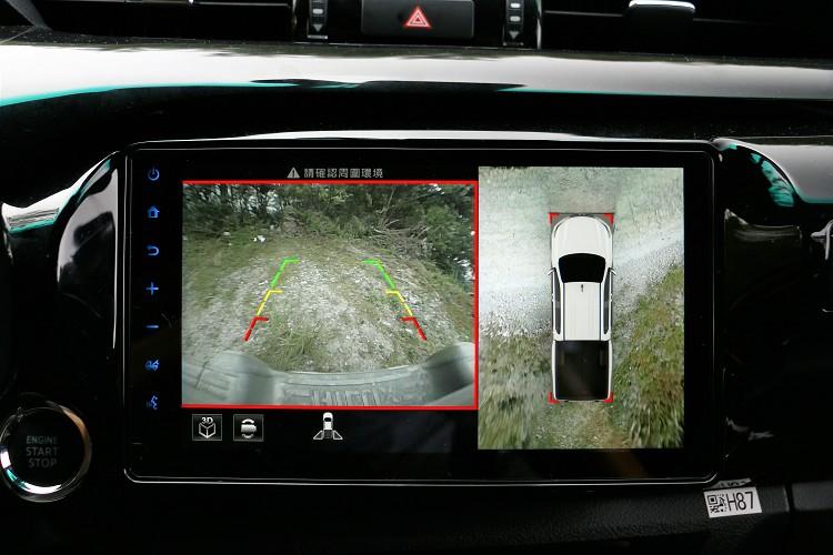 環境影像在狹小的山路上前行或者掉頭,都能大大輔佐駕駛提高安全性。