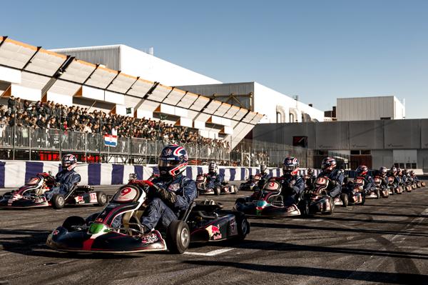 在義大利波隆那舉辦Red Bull Kart Fight總決賽。