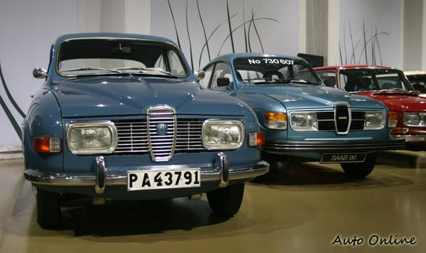 SAAB 96車型。由水箱護罩逐漸看到家族風格的確立。