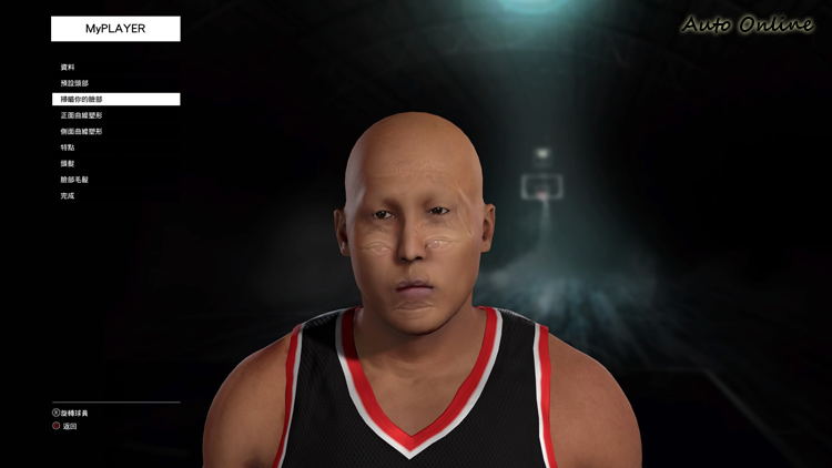 NBA2K16的臉部掃描功能精準度有待加強,筆者測試過程中經常出線臉部器官的殘影。