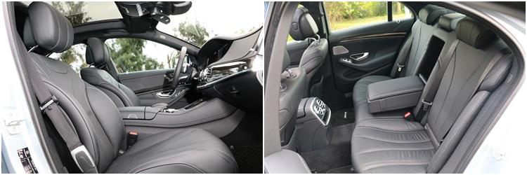 座艙提供寬敞的乘坐空間,舒適且支撐效果優良的座椅設計更令人激賞。