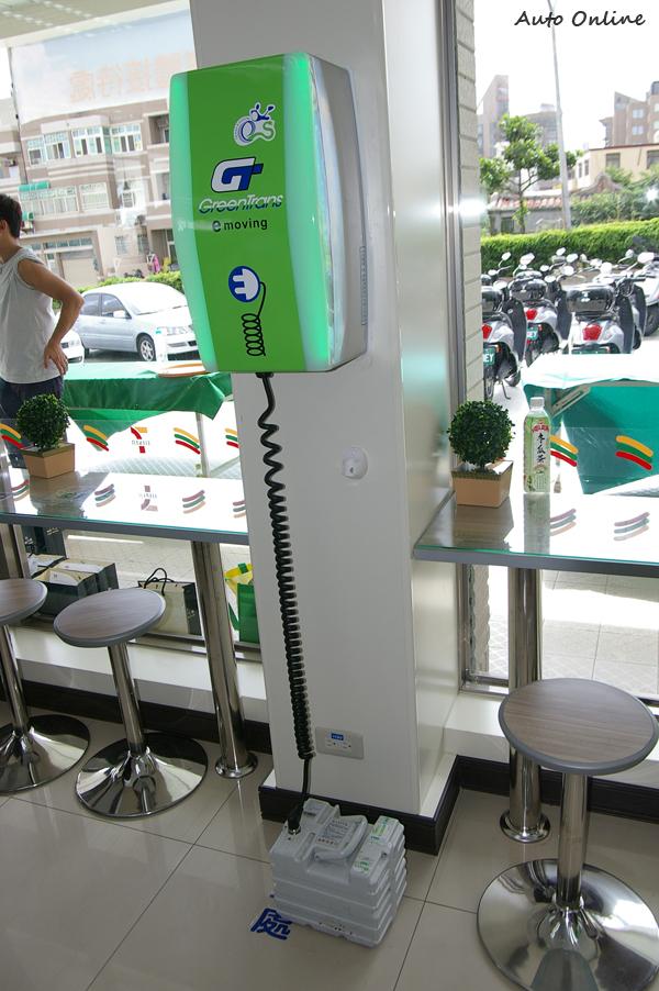 目前多數澎湖7-11門市都已裝設電池快充座,而吉貝與七美也找得到地方充電。