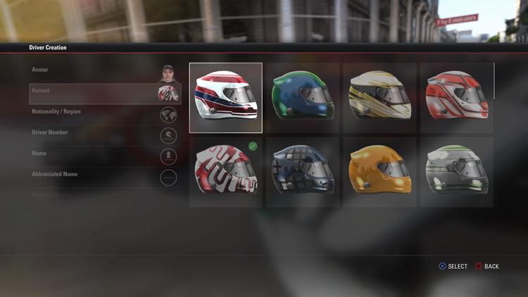 安全帽有多樣化的選項,顏色也提供玩家調配選擇。
