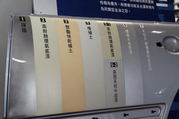 原廠烤漆塗層有規定的程序及工法,防鏽處理不能馬虎。