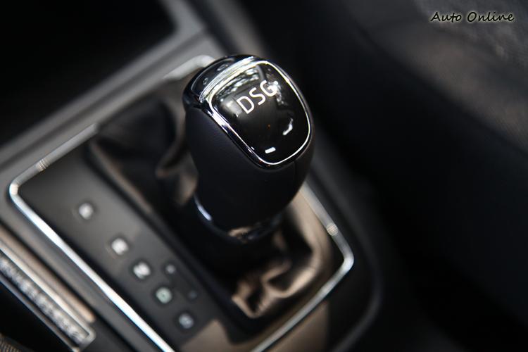 DSG七速雙離合器變速箱讓車子從低速到高速的過程中能有平順的動力銜接。