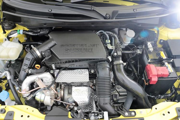 動力來源出自於一具1.4升BOOSTERJET四缸渦輪增壓引擎,最大馬力129.2匹與最大扭力23.9公斤米。