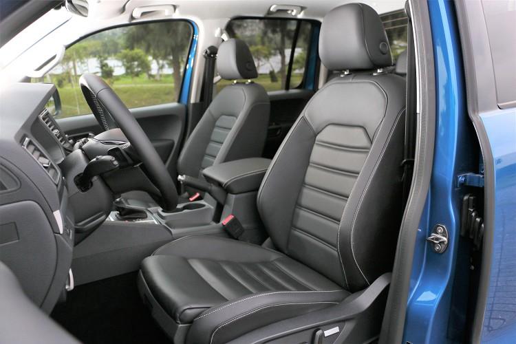 Aventura車型有Nappa真皮座椅、ergoComfort人體工學設計及雙前座12向電動調整。