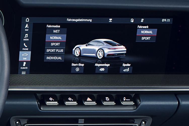 作為車系標配的Wet Mode除了納入駕駛模式選項,也可透過按鍵直接啟用。