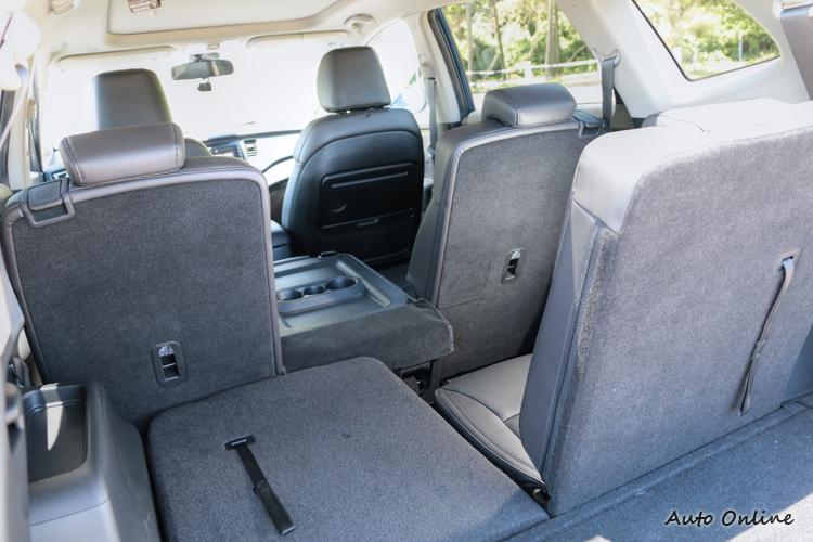 座椅調整彈性高,也讓乘坐與載物空間表現更好。