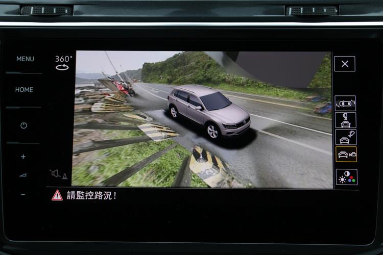 360度環車影像輔助系統能夠調整不同觀看角度,對於行車安全有絕對的加分作用。