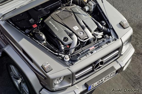 G63 AMG搭載6.2升V8雙渦輪增壓引擎,544hp超強馬力與770Nm扭力,比SLS AMG還猛!