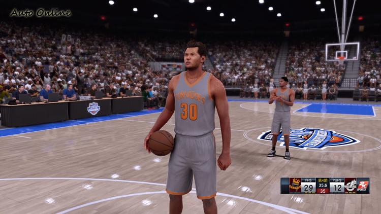 NBA2K16在畫質的細膩度上更勝以往。