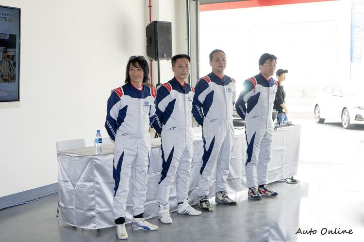 車廠請來陳俊杉的AAI專業賽車團隊擔任活動教練。