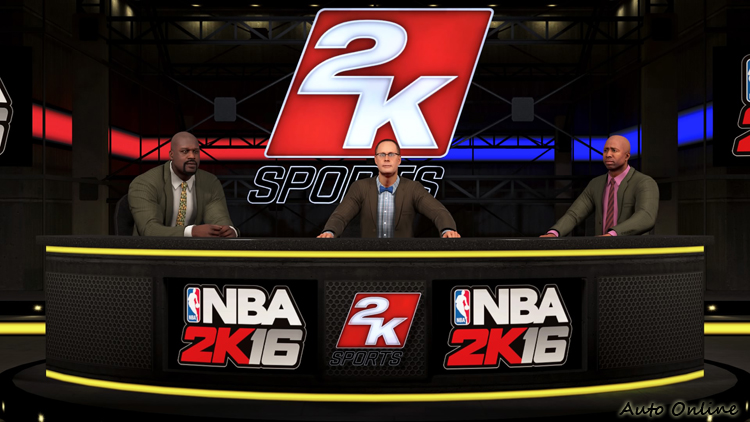 退休多年的NBA球員Kenny Smith在NBA2K16中加入球評的行列。