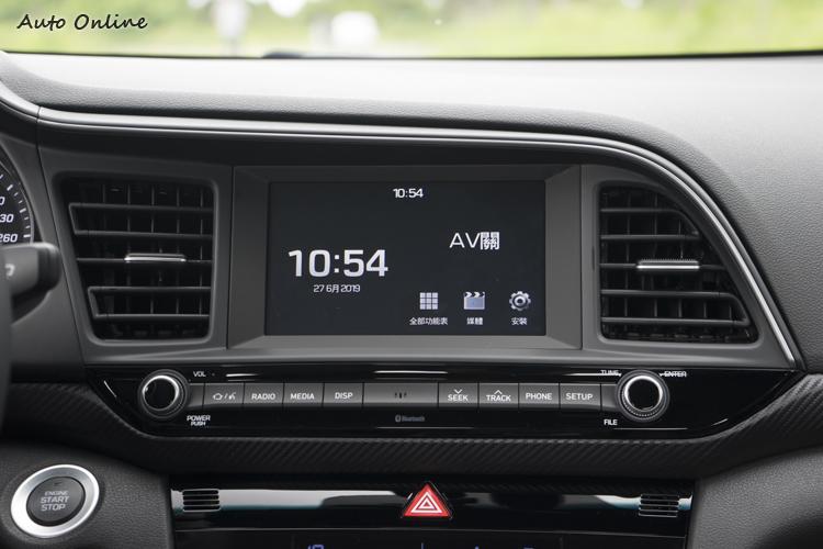 七吋多媒體觸控螢幕影音系統。