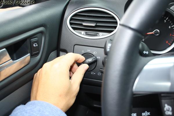 頭燈自動啟閉功能在Focus 1.8勁馳版上都屬標準配備。