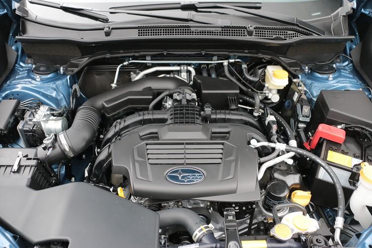 延續低重心的水平對臥引擎,結合SGP新世代模組化底盤,拉開與其它競爭對手間的差異。
