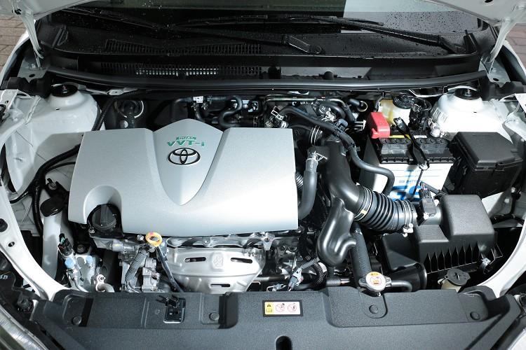 使用原廠代號2NR-FE的1.5升四缸自然進氣引擎,雙連續可變汽門正時系統提高引擎效率。