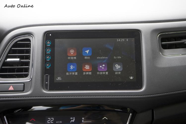 八吋螢幕沒支援兩大行動裝置整合平台。