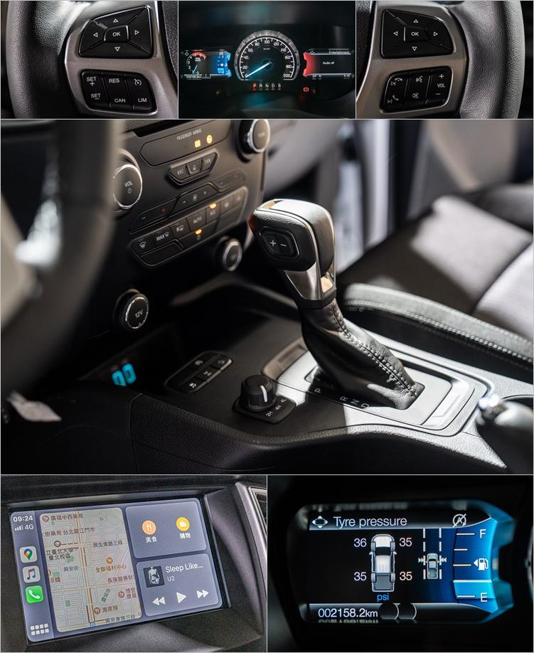 與職人型相比,全能型多了大型中央顯示幕,各項安全及便利設備的等級也比照休旅車。