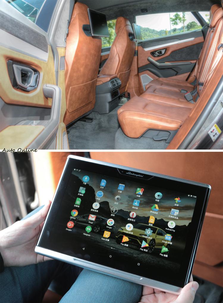 後座可加裝娛樂系統和電熱座椅,面板拆下就化身Android平板。