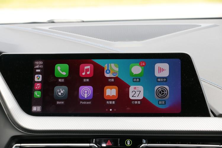 無線智慧型手機整合系統,含Apple CarPlay與Android Auto等連結手機相關的實用APP。