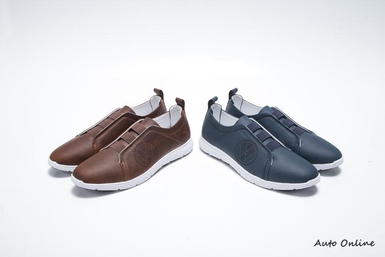 Volkswagen Wolfsburg Easy商務休閒鞋 / 新台幣3500~3850元。