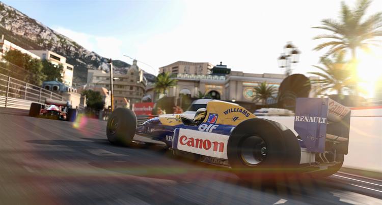 光影的變化是在《F1™ 2017》中做得相當細膩。