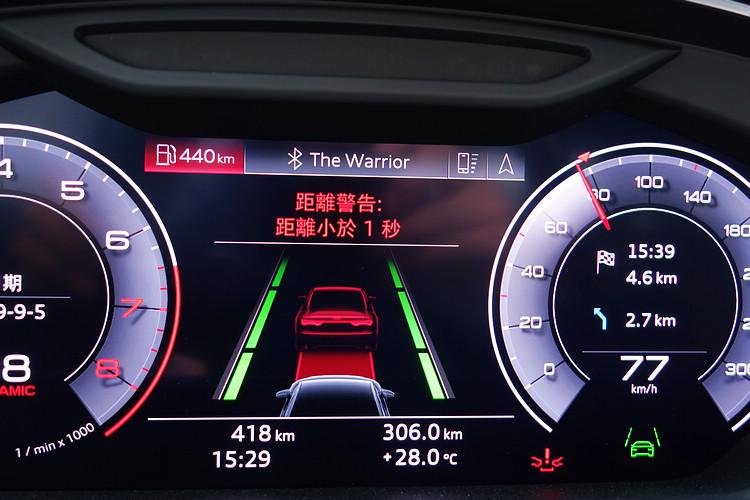 新一代A8L還搭載完整的主動安全科技,各種駕駛輔助和預警功能都相當完備。
