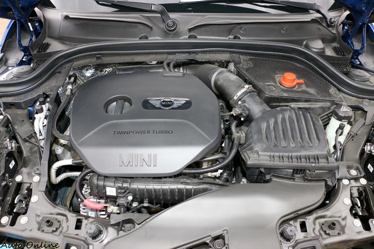 Mini包裝技術一流,引擎室美觀不凌亂。