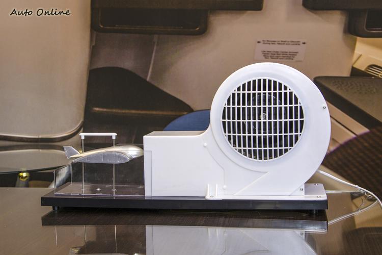 飛行前要先透過物理模型了解風洞原理,讓學員對飛機起飛、飛行過程的氣流變化建立基礎概念。