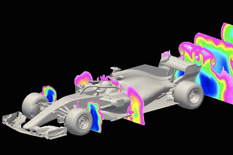 現行F1技術規則造成賽車的空力設計只能獨善其身,面對挑戰其他對手時就會陷入窘境。